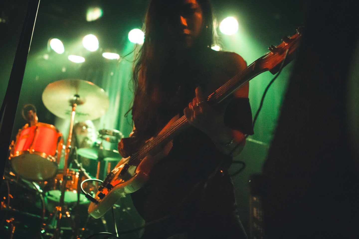 L.A. Witch at Beat Kitchen Chicago by Thomas Bock Photography