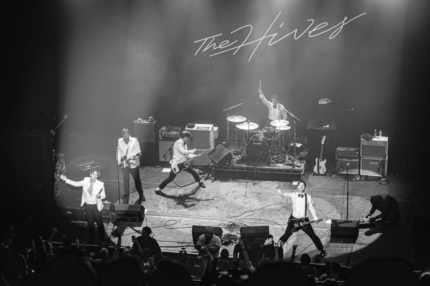 The Hives at The Vic Theatre by Thomas Bock Photography