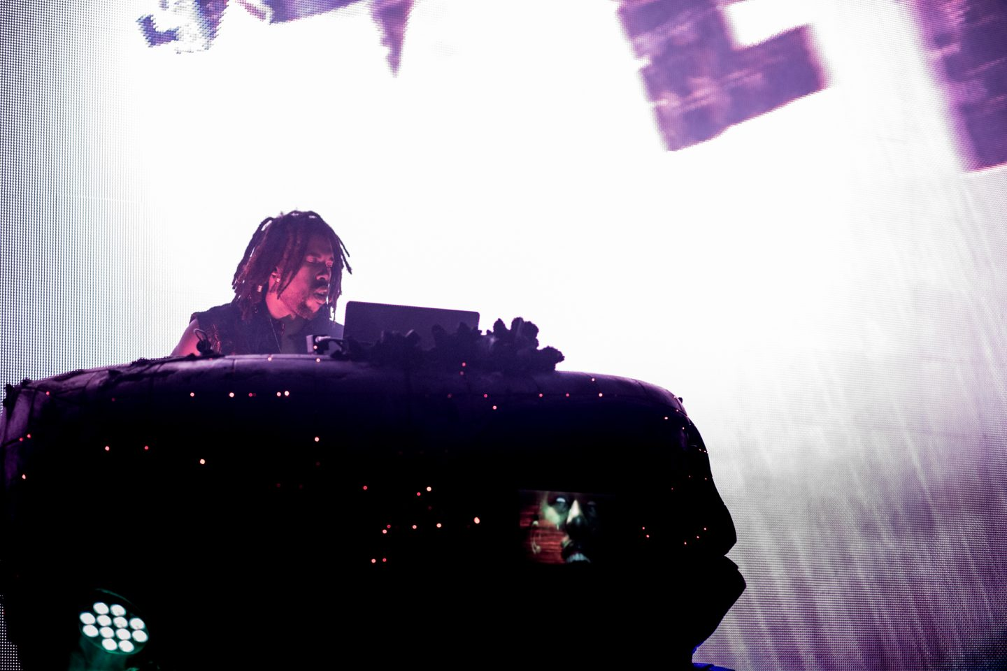 Flying Lotus at The Vic Theatre by Liina Raud Photography
