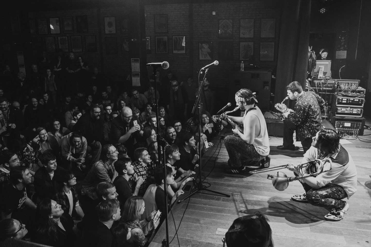 Lucky Chops at Lincoln Hall by Alan Luntz
